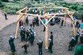 Postavili jsme první dětské hřiště